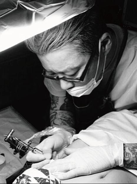 tattoo artist : Yuji Anai