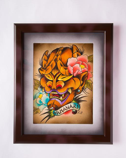 KINGRAT TATTOO 作品 | LAVA gallery | Tattoo artist: Yuji Anai | キングラット | ラバギャラリー | タトゥーアート | 福岡県北九州市 | art_work_1
