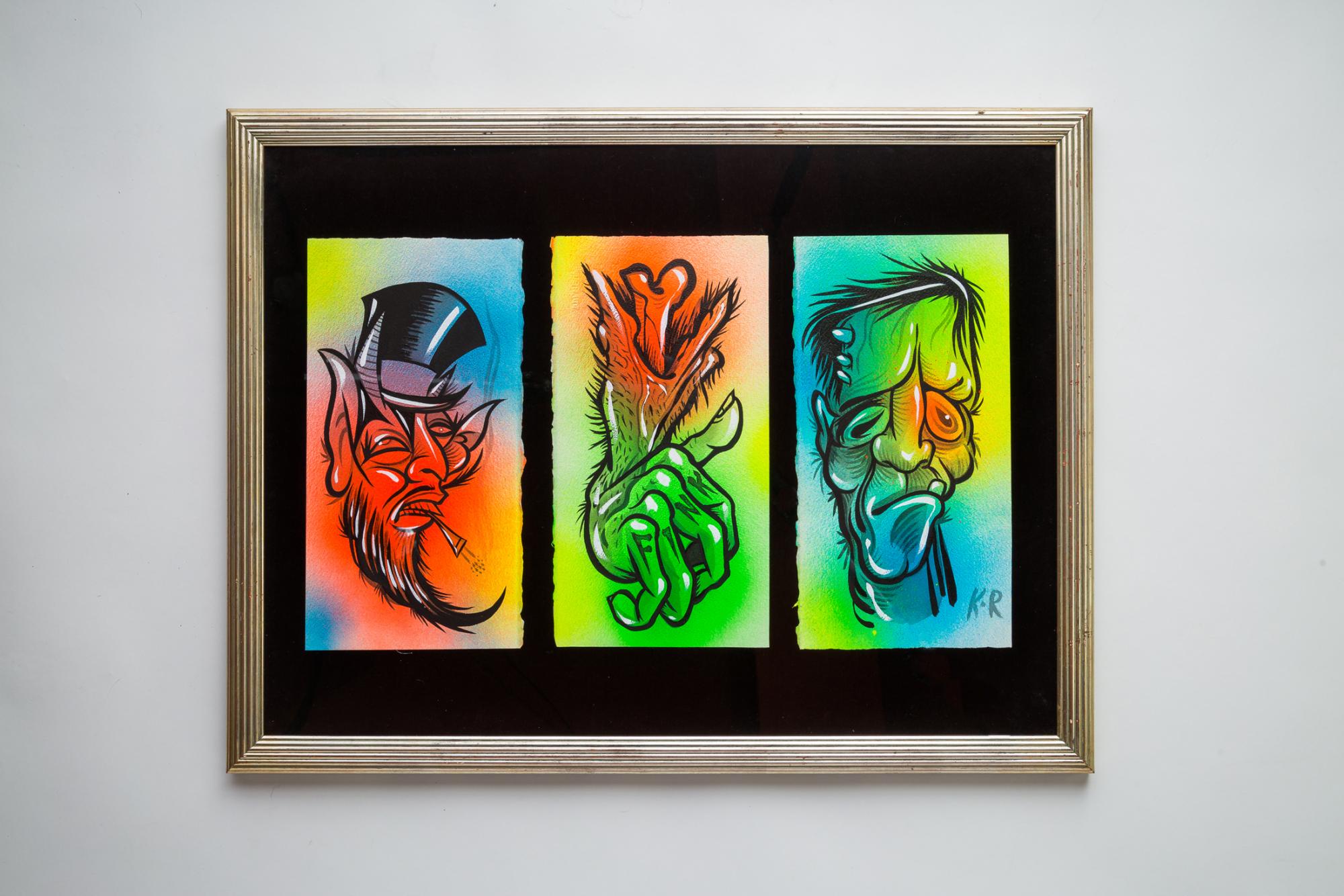 KINGRAT TATTOO 作品 | LAVA gallery | Tattoo artist: Yuji Anai | キングラット | ラバギャラリー | タトゥーアート | 福岡県北九州市 | art_work_3-1