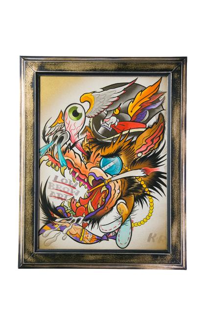 KINGRAT TATTOO 作品 | LAVA gallery | Tattoo artist: Yuji Anai | キングラット | ラバギャラリー | タトゥーアート | 福岡県北九州市 | art_work_8