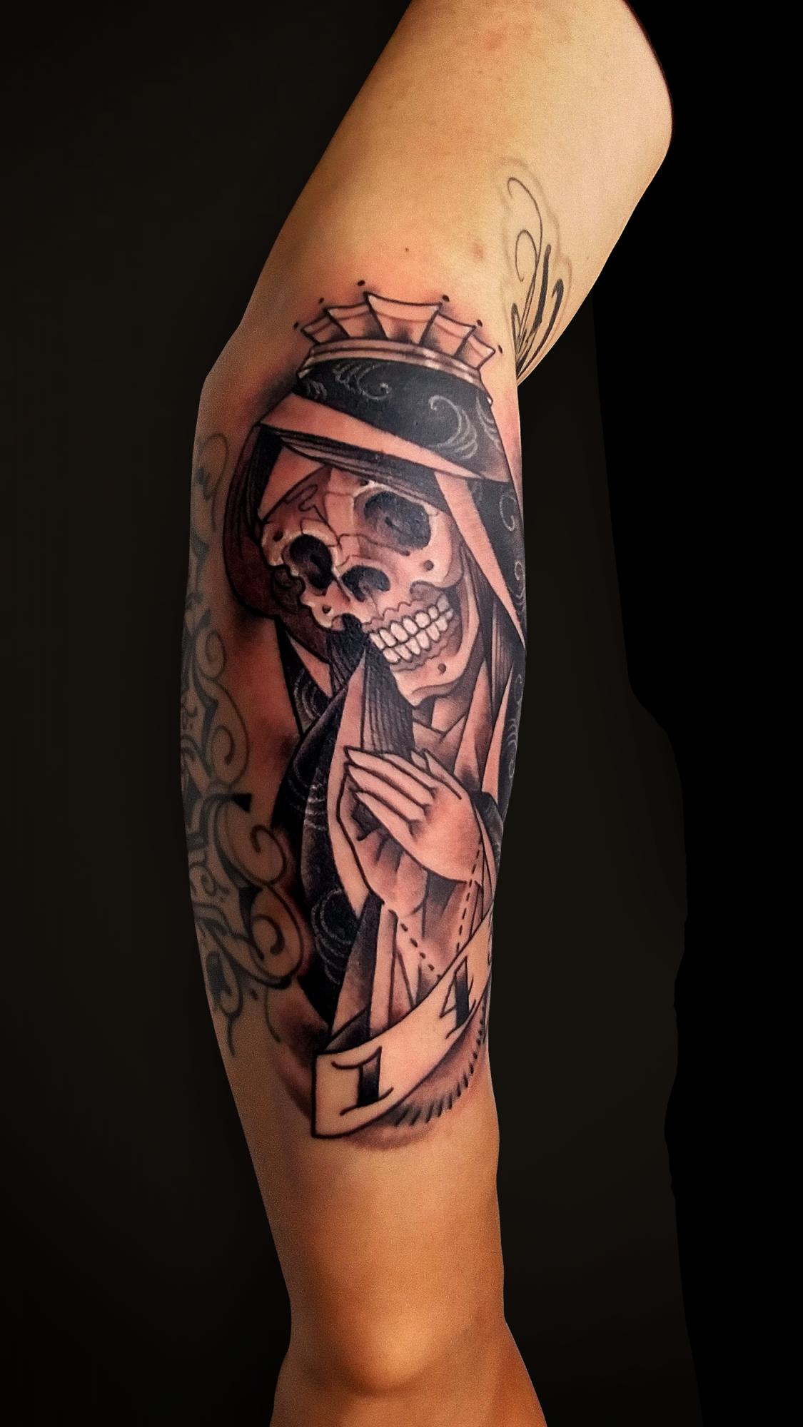 KINGRAT TATTOO 作品 | LAVA gallery | Tattoo artist: Yuji Anai | キングラット | ラバギャラリー | タトゥーアート | 福岡県北九州市 | 20210718_13b