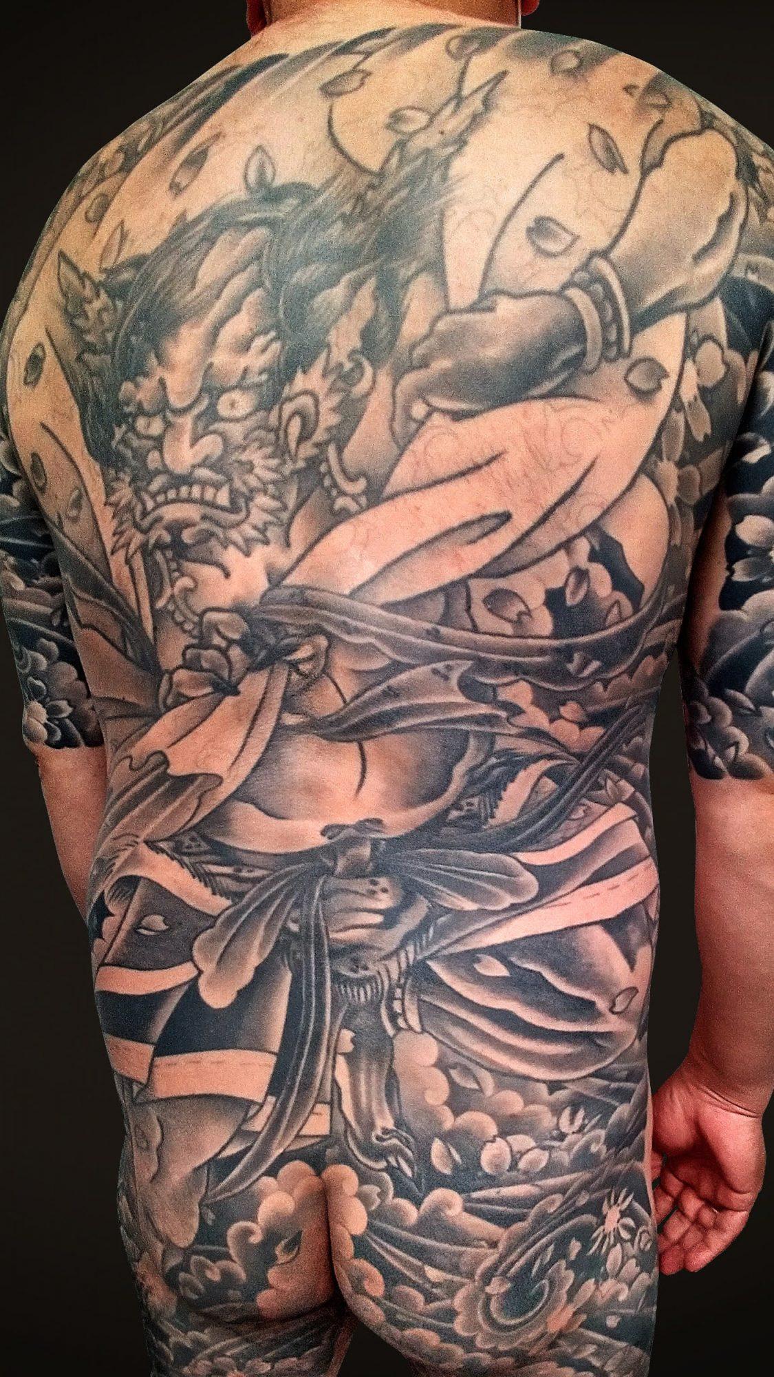 KINGRAT TATTOO 作品 | LAVA gallery | Tattoo artist: Yuji Anai | キングラット | ラバギャラリー | タトゥーアート | 福岡県北九州市 | 20210718_05b