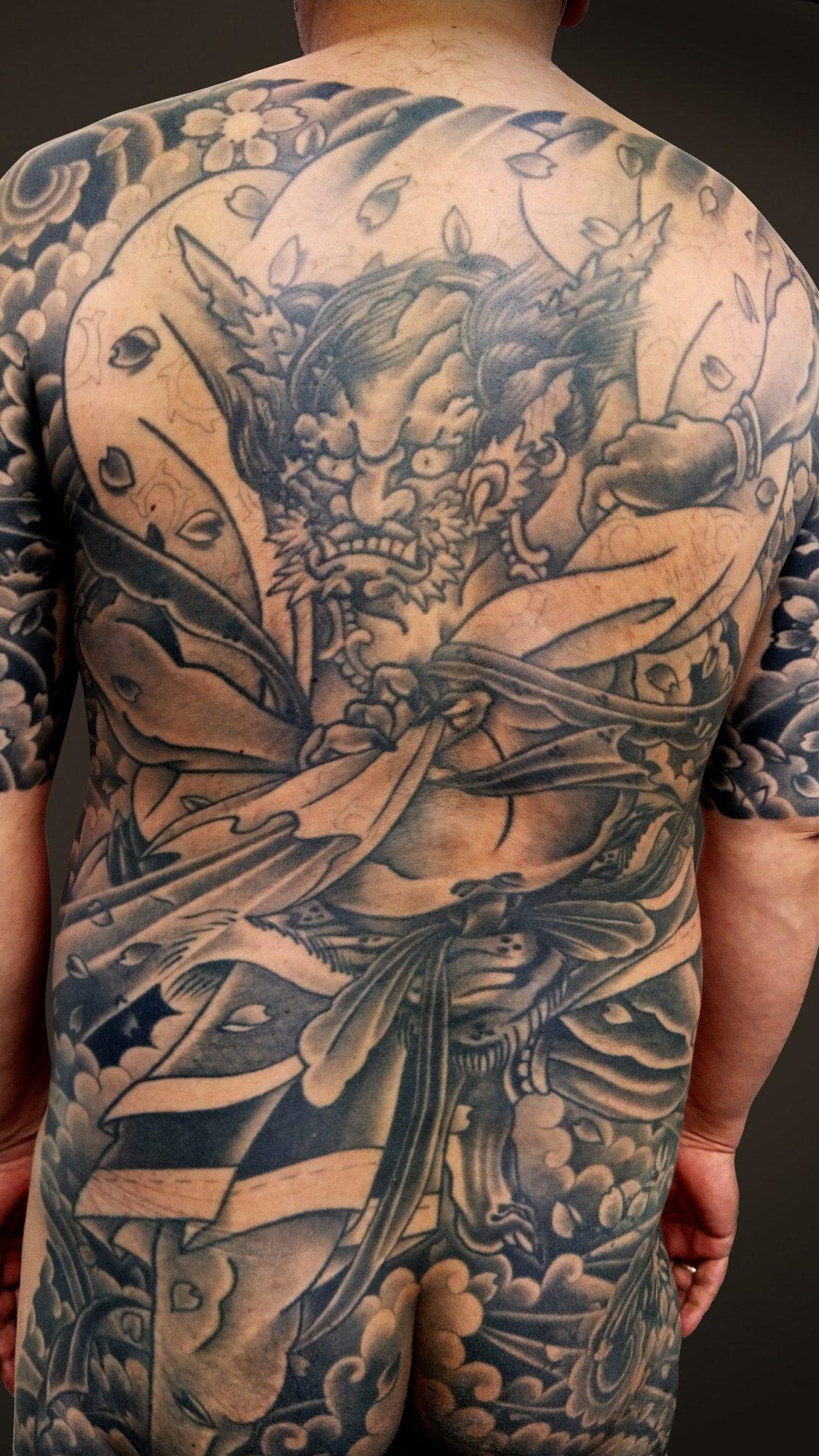 KINGRAT TATTOO 作品 | LAVA gallery | Tattoo artist: Yuji Anai | キングラット | ラバギャラリー | タトゥーアート | 福岡県北九州市 | 20210718_04b