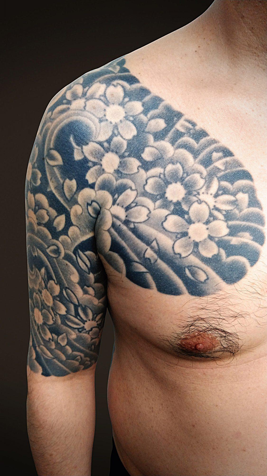 KINGRAT TATTOO 作品 | LAVA gallery | Tattoo artist: Yuji Anai | キングラット | ラバギャラリー | タトゥーアート | 福岡県北九州市 | 20210718_08b