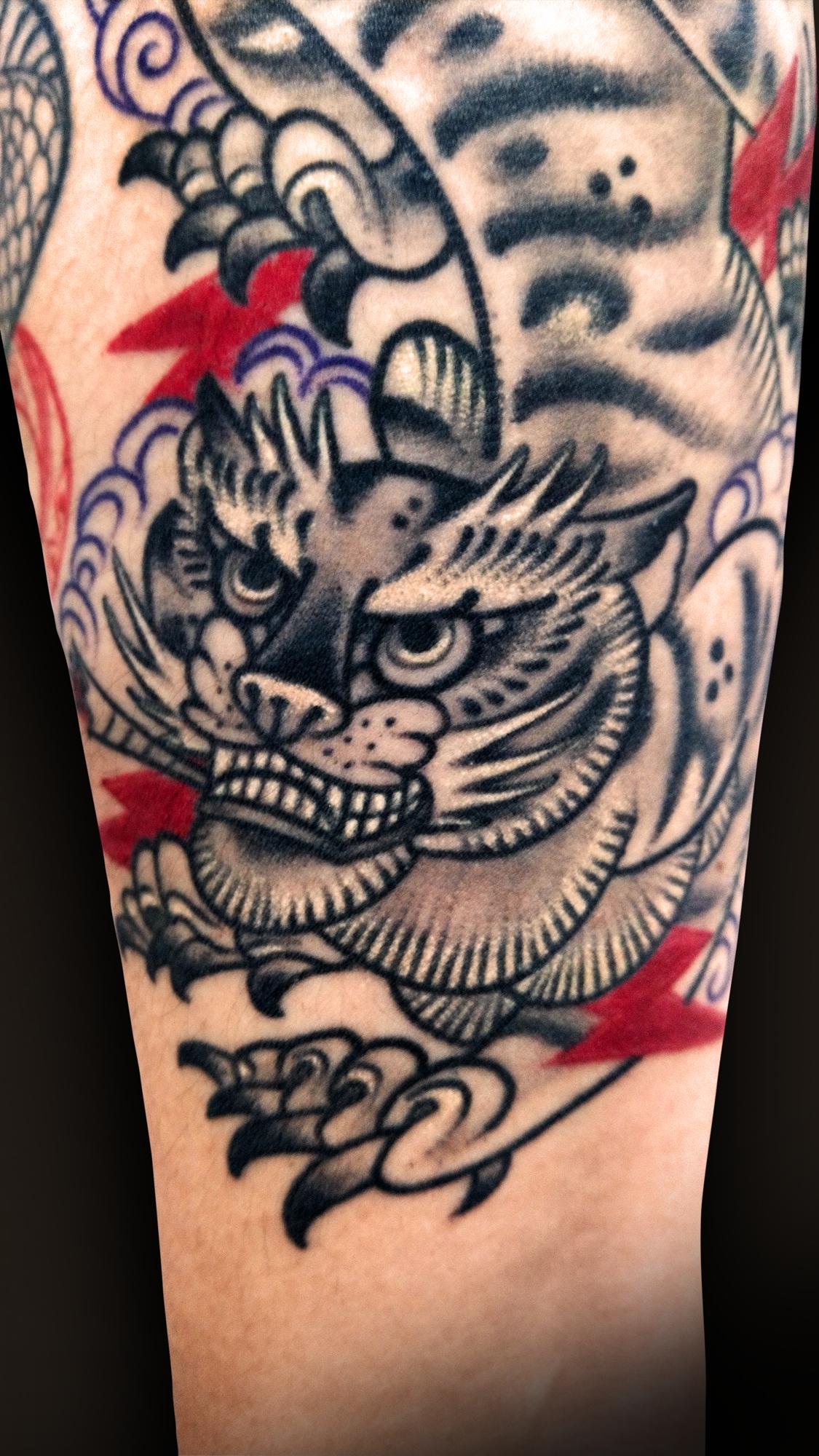 KING RAT TATTOO 作品 | LAVA gallery | Tattoo artist: Yuji Anai | キングラット | ラバギャラリー | タトゥーアート | 福岡県北九州市 | KIMG0084