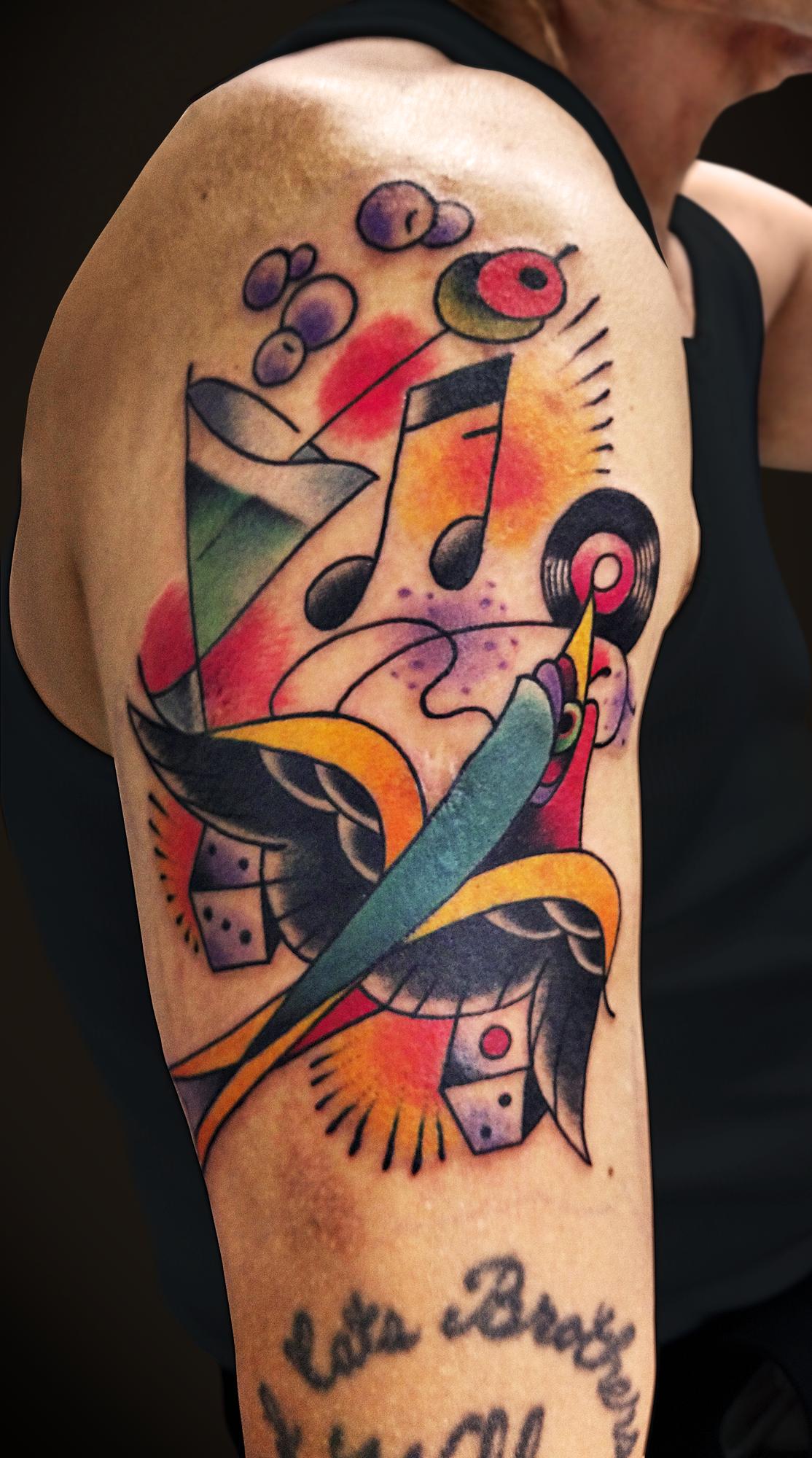 KING RAT TATTOO 作品 | LAVA gallery | Tattoo artist: Yuji Anai | キングラット | ラバギャラリー | タトゥーアート | 福岡県北九州市 | KIMG0128_2